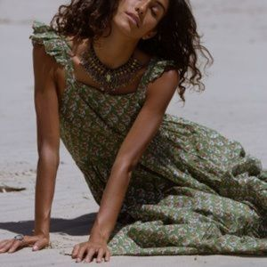 Daughters of India Bohemian Maxi Sundress Size S